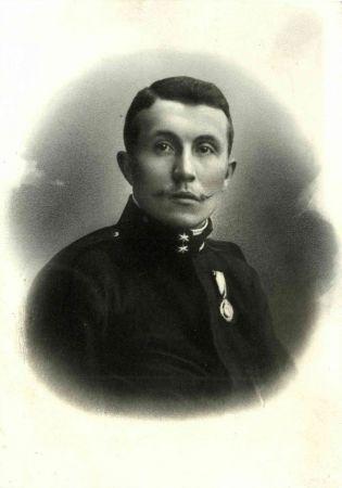 J. Janda v aktivní službě 1904 - 1909